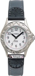 Timex Indiglo Gray Fabric Strap T79131
