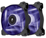 Corsair AF120 LED Purple Quiet Edition High Airflow 120mm (Twin Pack)
