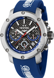 TW Steel Xl Yamaha Racing Limited Collection Blue Rubber Strap TW925