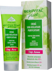 Gerovital Plant Purifying Sebum Control Cream 200ml