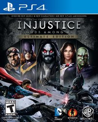 Injustice Gods Among Us (Ultimate Edition) PS4
