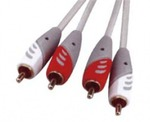 D&S Audio Cable 2x RCA male - 2x RCA male 3m (A3016-07)