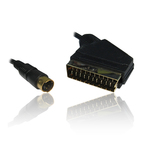 OEM Cable Scart male - S-Video male 1.5m