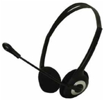 Approx Lightweight Stereo Headset Black APPHSEB