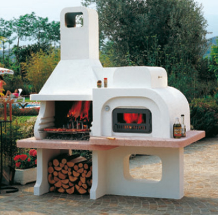 Caminetti montegrappa forno grill 9500 - Caminetti per esterno ...