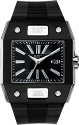 Caterpillar Northcape Date Black Rubber Strap N4 141 21 121