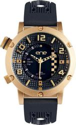 ENE Classic Cup Rose Gold Case Black Rubber Strap 11472