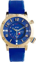 ENE Regata Cup Gold Case Blue Rubber Strap 11474