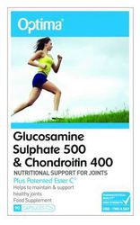 Optima Glucosamine Sulphate 500 & Chondroitin 400 90 ταμπλέτες
