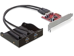 DeLock Front Panel USB 3.0 & PCI Express Card