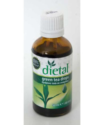 Vitorgan Dietal Green Tea Drops 50ml