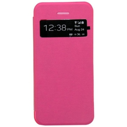 NortonLine Flip S-View Trans Pink (iPhone 5/5s/SE)