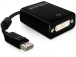 DeLock DisplayPort male - DVI-I female (61847)