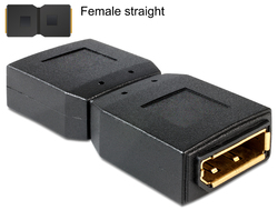 DeLock DisplayPort female - DisplayPort female (65374)