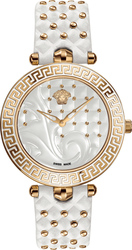 Versace Vanitas Lady White Leather Strap VK7010013