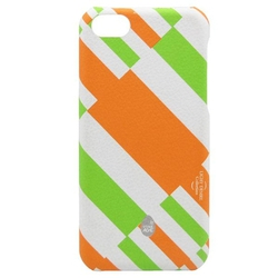 Stoneage Hardshell Light Desire White - Orange (iPhone 5C)