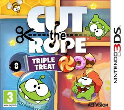 Cut the Rope: Triple Treat 3DS
