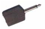 OEM 3.5mm male - 2x 6.3mm female