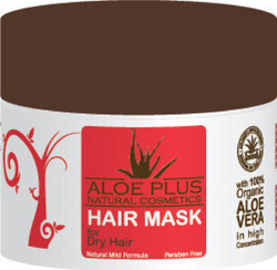 Aloe Plus Natural Cosmetics Mask For Dry Hair 200ml