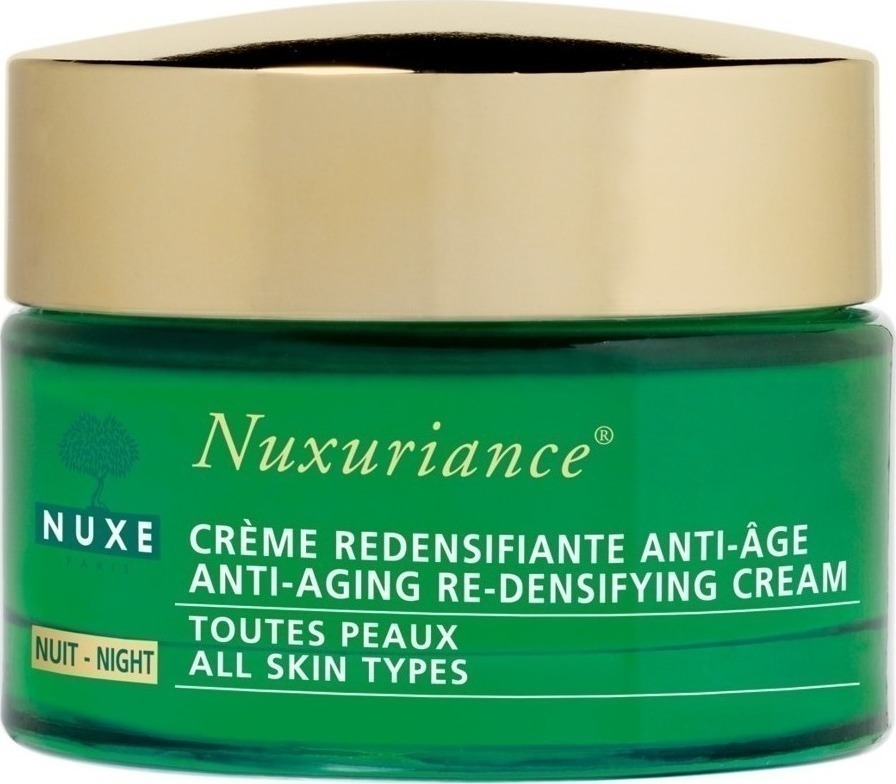 nuxe nuxuriance nuit creme redensifiante anti age toutes peaux 50ml. Black Bedroom Furniture Sets. Home Design Ideas