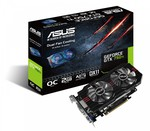 Asus GeForce GTX750 Ti 2GB OC (90YV05J0-M0NA00)
