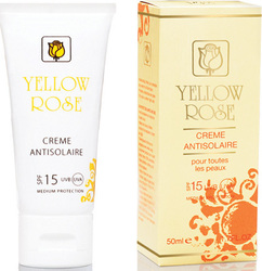 Yellow Rose Creme Antisolaire SPF15 50ml