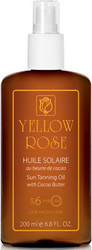 Yellow Rose Huile Solaire SPF6 200ml