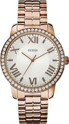 Guess Rosegold Crystal Watch W0329L3