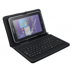 Powertech Universal Flip Cover with Keyboard 8""