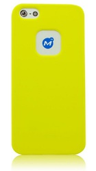 Momax Ultra Tough Soft Case Yellow (iPhone 5/5s/SE)