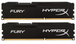 HyperX Fury Black 8GB DDR3-1866MHz (HX318C10FBK2/8)