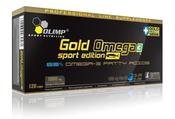 Olimp Gold Omega 3 Sport Edition 1000mg 120 κάψουλες