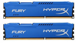 HyperX Fury Blue 16GB DDR3-1600MHz (HX316C10FK2/16)
