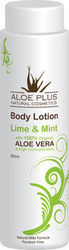 Aloe Plus Natural Cosmetics Body Lotion Mint & Lime 300ml