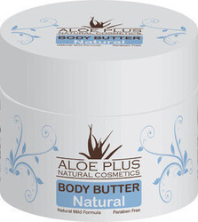Aloe Plus Natural Cosmetics Body Butter Natural 200ml