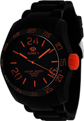 Marea Black Rubber Strap 35222-1