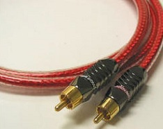Straight Wire Audio Cable 2x RCA male - 2x RCA male 1m (CON10)