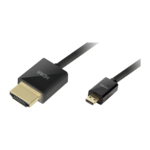 LogiLink HDMI Cable with Ethernet HDMI male - micro HDMI male 1.5m (CH0048 W)