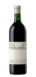 Ridge Vineyards Lytton Springs Ερυθρός
