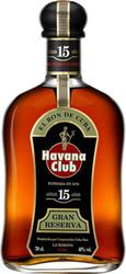 Havana Club Rum 15 Year Old