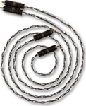 Kimber Kable Audio Cable Silver Streak WBT-0147 2x RCA male - 2x RCA male 1m