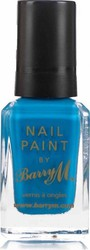 Barry M Nail Paint No 294 Cyan Blue