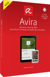 Avira Antivirus Security Pro for Android (1 User , 3 Devs , 1 Year)