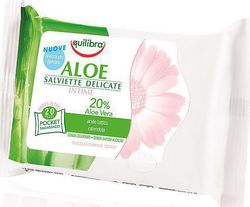 Equilibra Aloe Intimate Hygiene Wipes 20τμχ