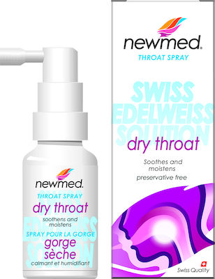 New Med Throat Spray for a Dry Throat 30ml