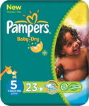 Pampers Baby Dry No 5 (11-25Kg) 23τμχ