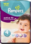 Pampers Active Fit No 4 (7-18Kg) 22τμx