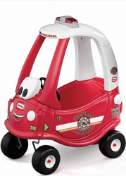 Little Tikes Cozy Coupe Fire Ride 'n Rescue