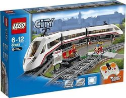 Lego High-Speed Passenger Train