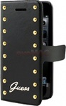 Guess Flip Case Studded Black (iPhone 5/5s/SE)